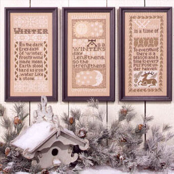 Winter Samplers - Cross Stitch Pattern