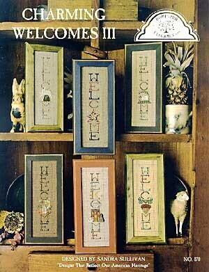 Charming Welcomes III - Cross Stitch Pattern