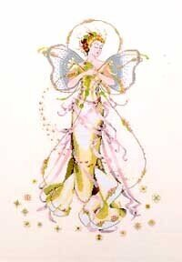 June's Pearl Fairy - Mirabilia Cross Stitch Pattern