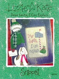 Dear Santa I Can Explain - Cross Stitch Pattern