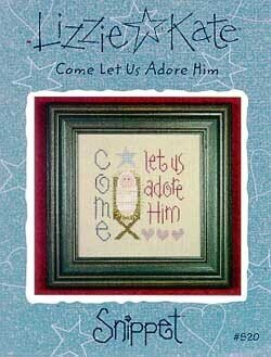 Come Let Us Adore Him - Cross Stitch Pattern