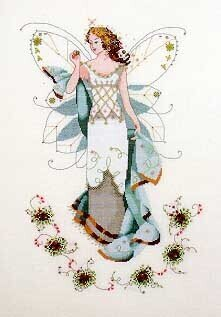 May's Emerald Fairy - Mirabilia Cross Stitch Pattern