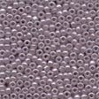 Ash Mauve Glass Beads - Size 11/0 (2.5mm)