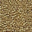 Mill Hill 00557 Gold Glass Beads - Size 11/0