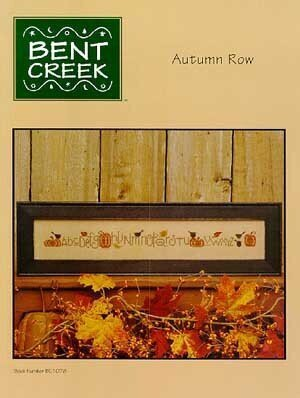 Autumn Row - Cross Stitch Pattern