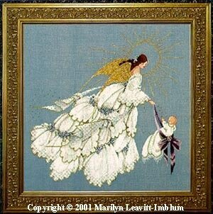 Angel of Mercy II - Cross Stitch Pattern