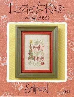 Winter ABC's - Cross Stitch Pattern