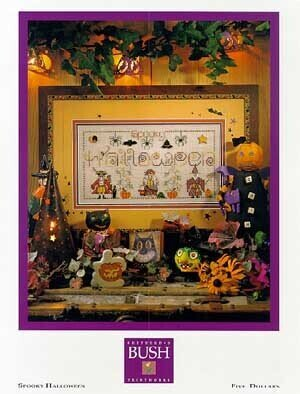 Spooky Halloween - Cross Stitch Pattern