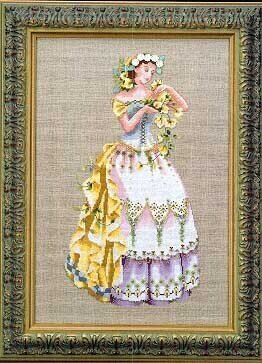 Blossom Harvest - Mirabilia Cross Stitch Pattern