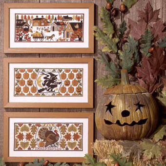 Harvest Time - Cross Stitch Pattern