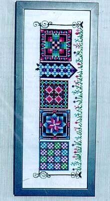 Parade of Quilts - Cross Stitch Pattern