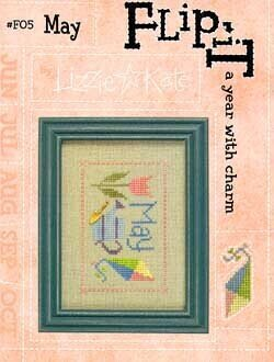 Flip-It May - Cross Stitch Pattern
