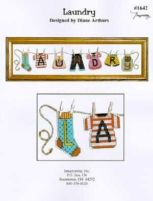 Laundry - Cross Stitch Pattern