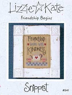 Friendship Begins - Cross Stitch Pattern