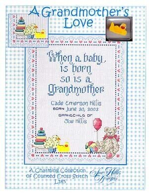 A Grandmother's Love - Cross Stitch Pattern