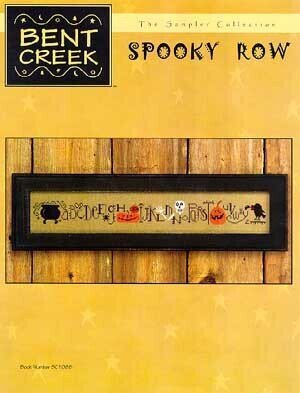 Spooky Row - Cross Stitch Pattern