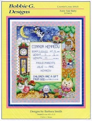 Fairy Tale Baby - Cross Stitch Pattern