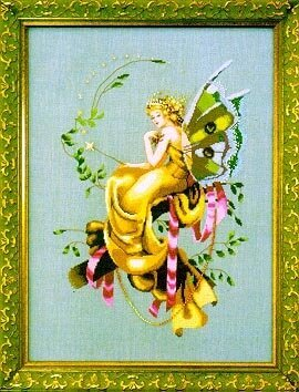 Woodland Fairie - Mirabilia Cross Stitch Pattern