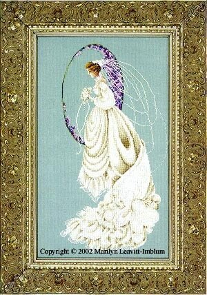 Spring Bride - Cross Stitch Pattern