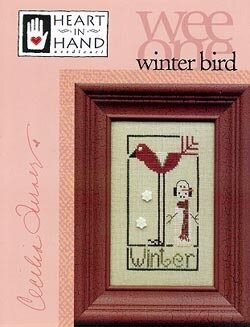 Winter Bird (Wee One) - Cross Stitch Pattern