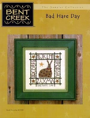 Bad Hare Day - Cross Stitch Pattern