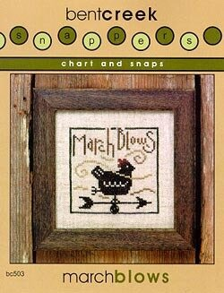 March Blows - Snappers - Cross Stitch Pattern