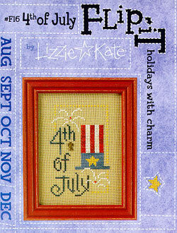Flip-It 4th of July - Cross Stitch Pattern