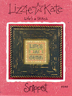 Life's a Stitch - Cross Stitch Pattern