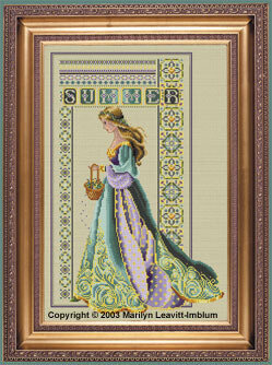 Celtic Summer - Cross Stitch Pattern