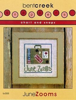 Chart And Snaps June Zooms - Cross Stitch Pattern