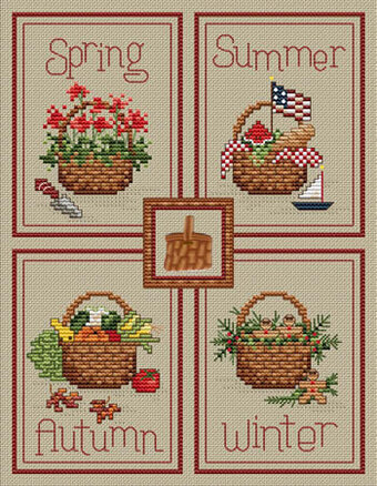 Seasonal Baskets (with charm)