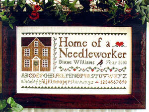 Home of a Needleworker - Cross Stitch Pattern