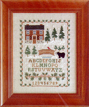Pinetop Lodge - Cross Stitch Pattern