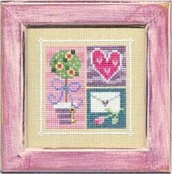 Flip-It Blocks February - Cross Stitch Pattern