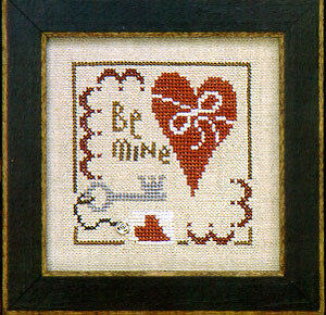 Snapper Holiday Happy Valentine - Cross Stitch Pattern
