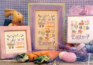 Easter Sampler - Cross Stitch Pattern