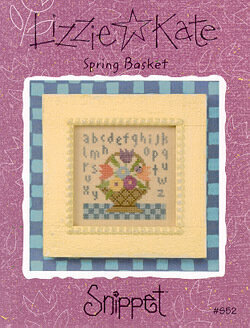 Spring Basket - Cross Stitch Pattern
