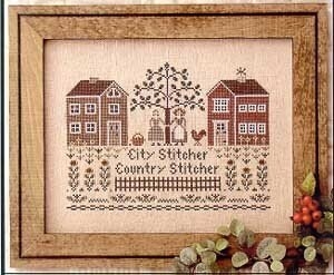 City Stitcher, Country Stitcher - Cross Stitch Pattern