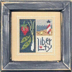 Flip-It Blocks July - Cross Stitch Pattern