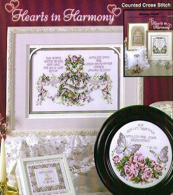 Hearts in Harmony - Cross Stitch Pattern