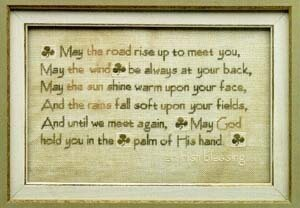 Irish Blessing - Cross Stitch Pattern