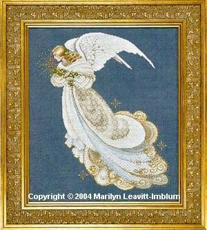 Angel of Dreams - Cross Stitch Pattern