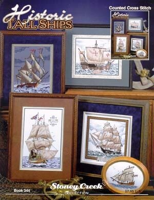 Historic Tall Ships - Cross Stitch Pattern