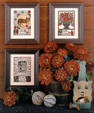 Y & Z - Cross Stitch Pattern
