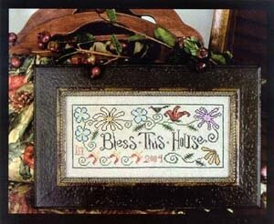 Bless This House - Cross Stitch Pattern
