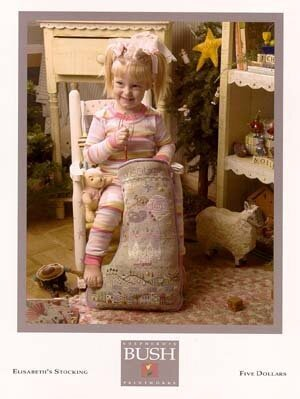 Elisabeth's Stocking - Cross Stitch Pattern