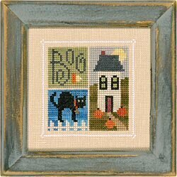 Flip-It Blocks October - Cross Stitch Pattern