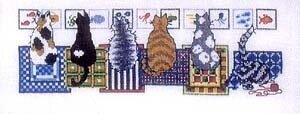 What Cats Do - Cross Stitch Pattern