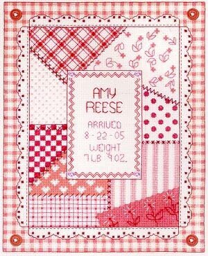 It's A Girl - Cross Stitch Pattern