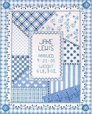 It's A Boy - Cross Stitch Pattern